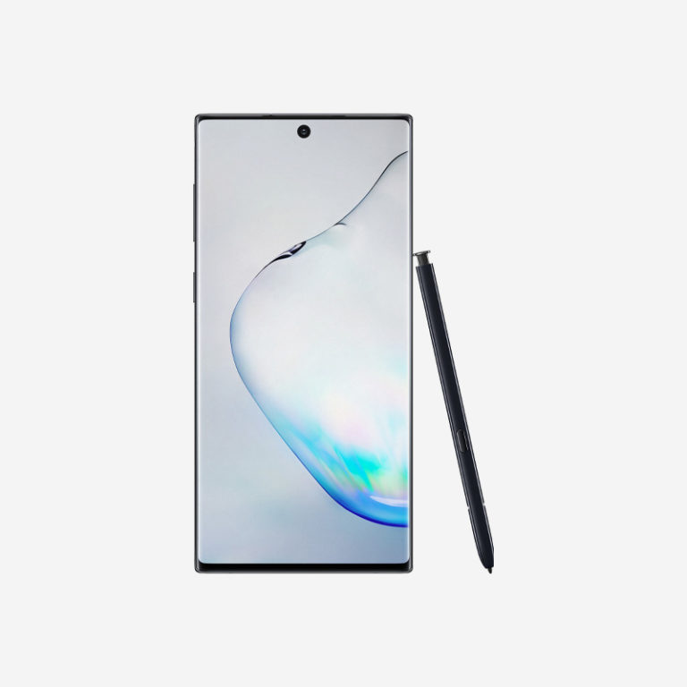 Galaxy Note 10 Black Front