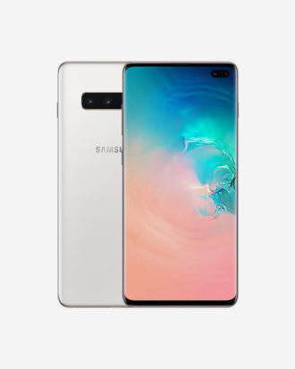 Galaxy S10 Plus Ceramic White