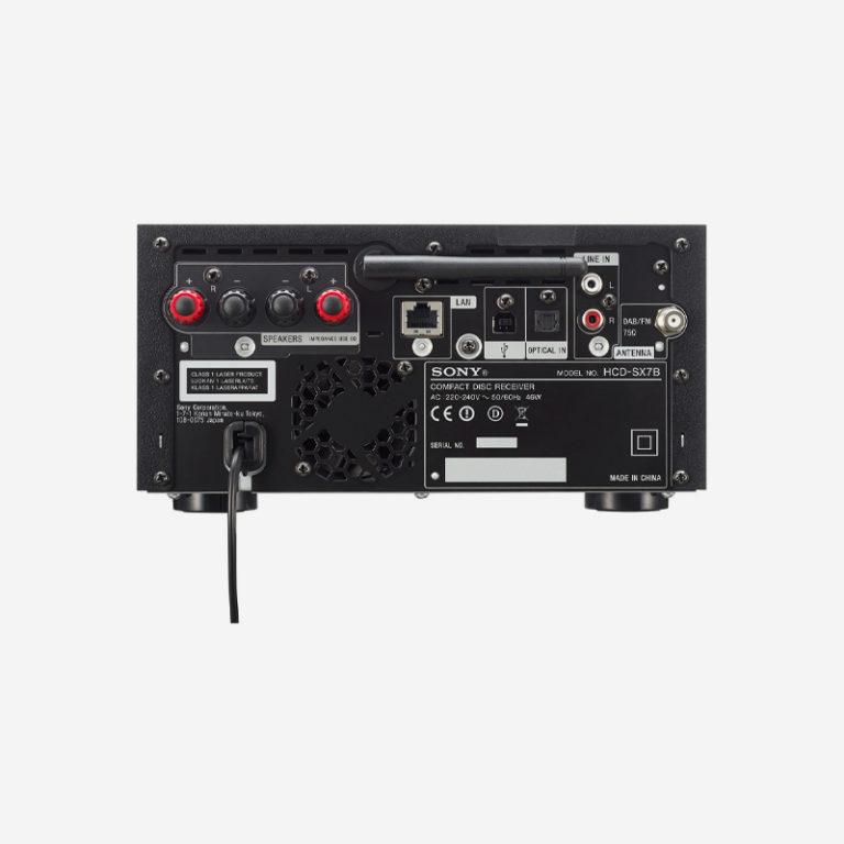 Sony CMT-SX7B Port