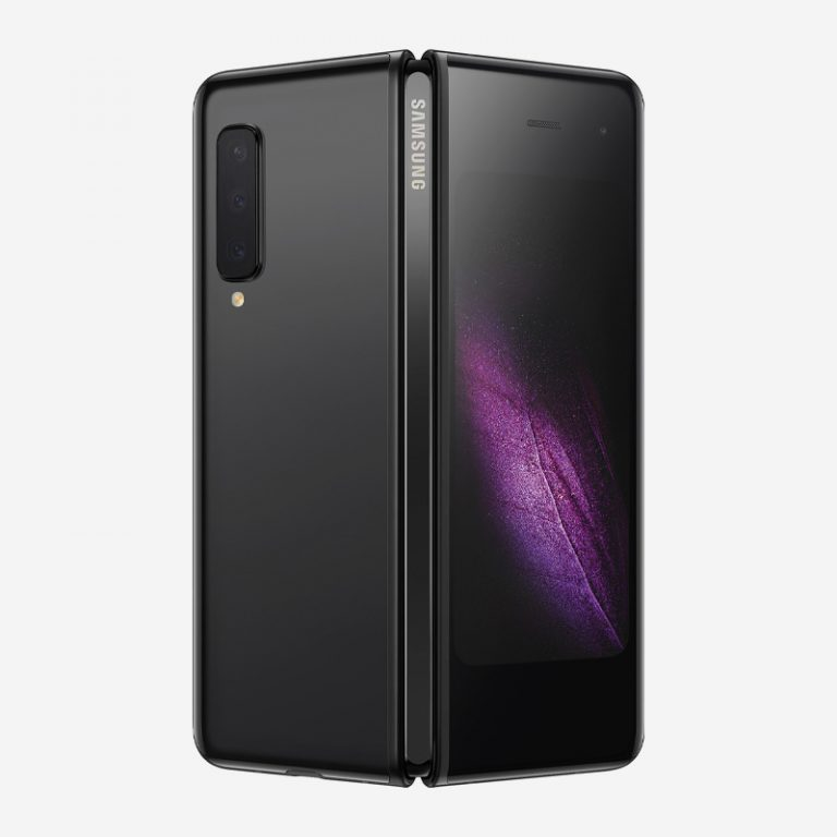 Galaxy Fold Cosmos Black Rear