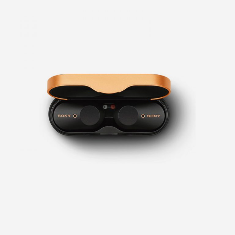 Sony WF-1000XM3 Zwart Case Top