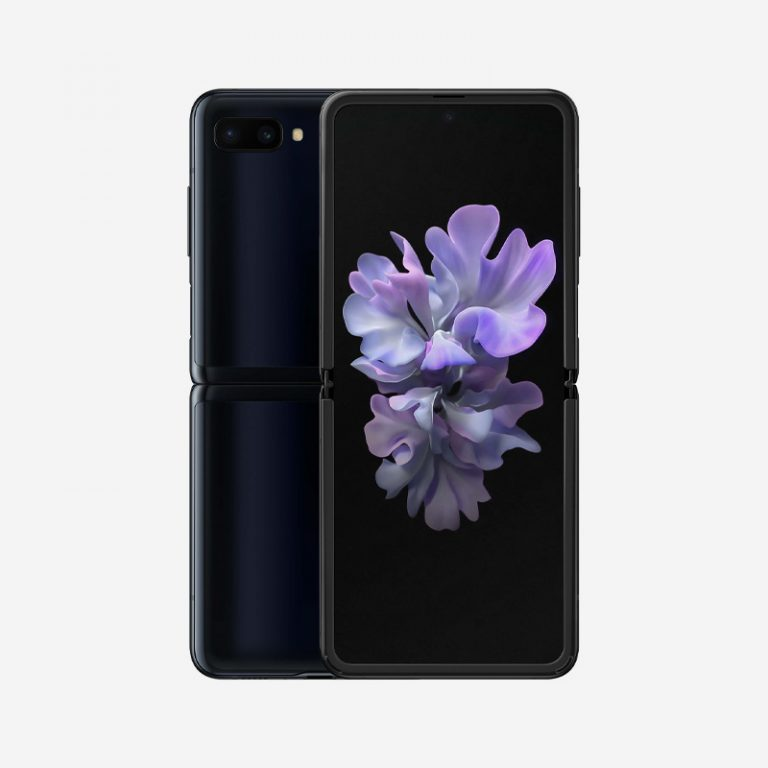Galaxy Z Flip Black Unfold