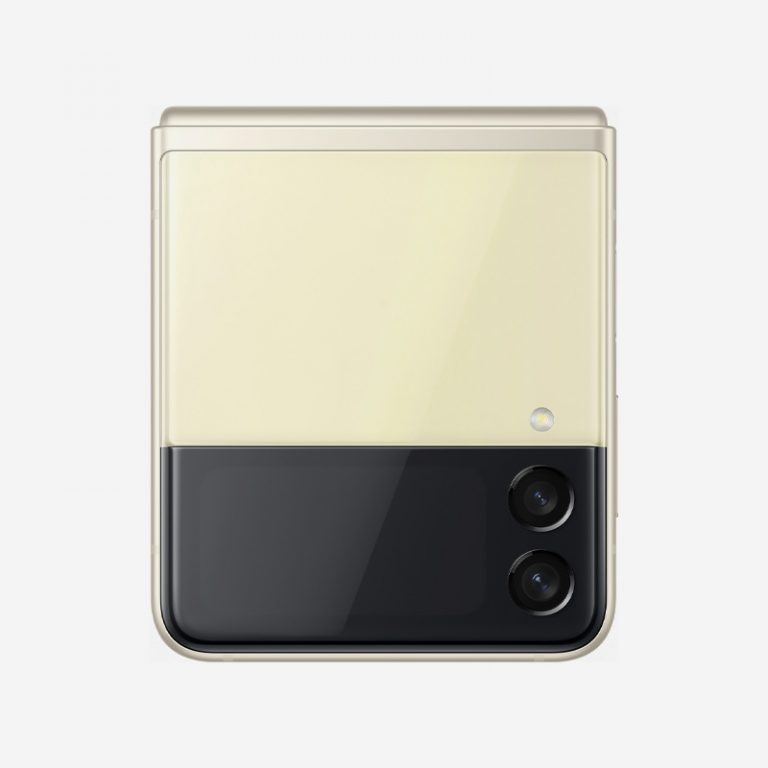 Galaxy Z Flip 3 Cream Camera