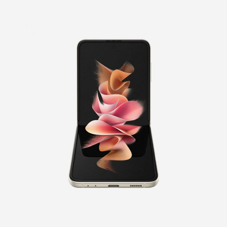 Galaxy Z Flip 3 Cream Fold