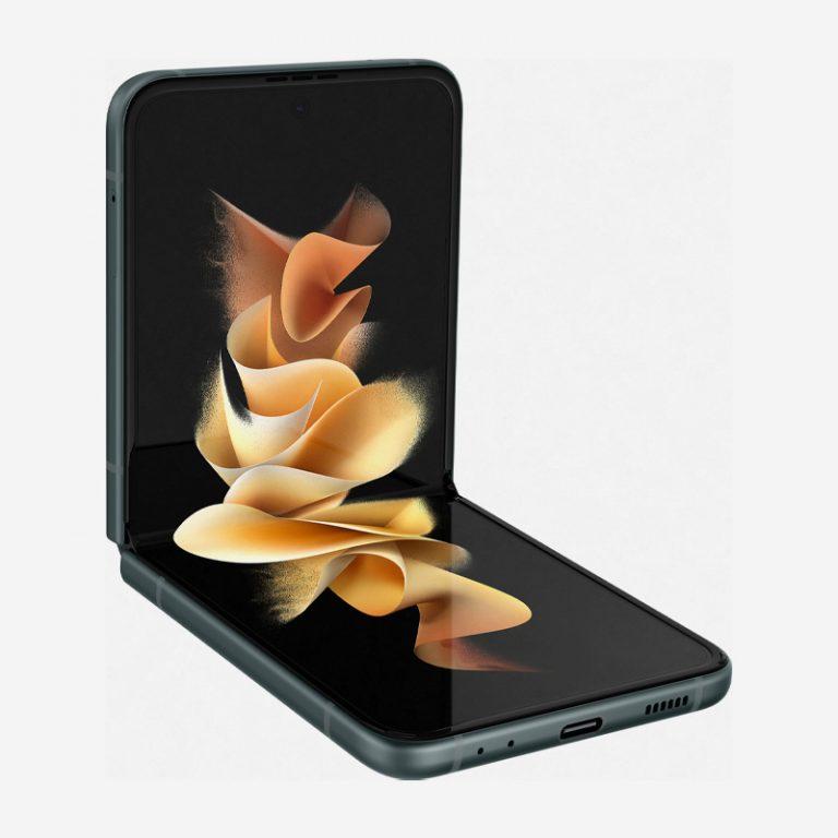 Galaxy Z Flip 3 Green Fold