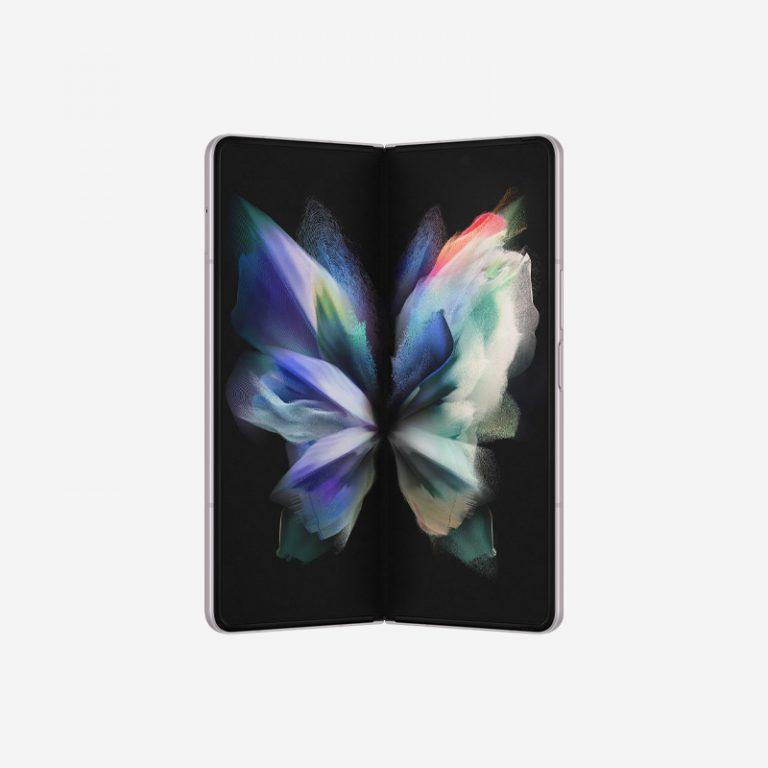 Galaxy Z Fold 3 Silver